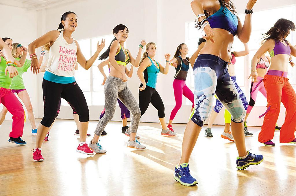 zumba aerobic fitness